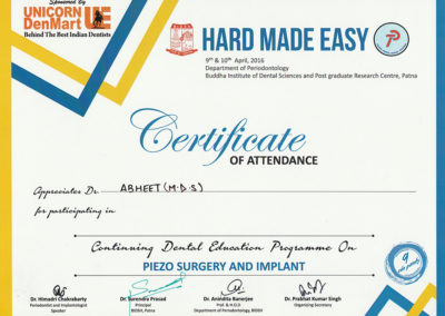 Certificate-for-Dental-education-programme-on-piezo-surgery-and-implants-by-Department-of-Periodontology-Budha-institute-of-Dental-Sciences-and-Post-Graduate-Research-centre-patna